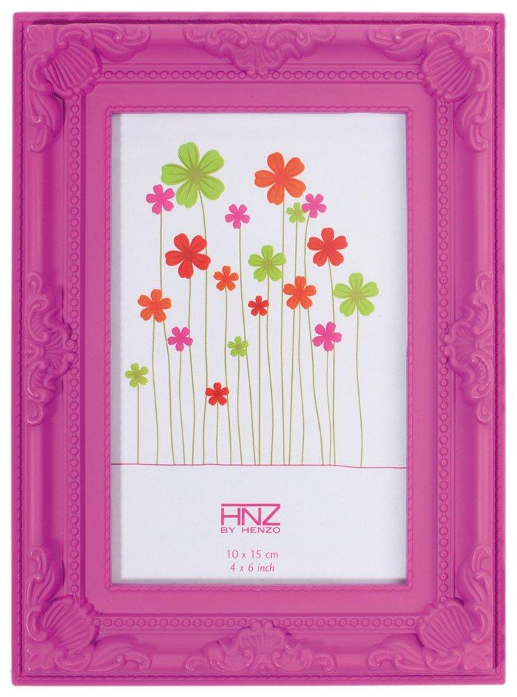 Henzo 8036212 Colourbarok 13x18 Frame Rosa Bilderrahmen, Plastik, 13 ...