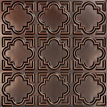 tin ceiling tile antique copper 25pack
