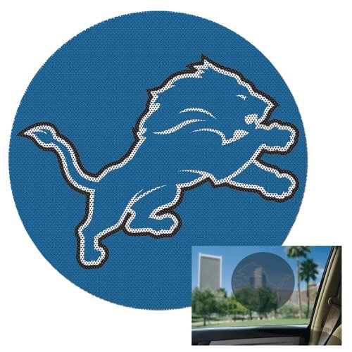 Detroit Lions Official NFL 8 inch Car Window Shade Decal by
