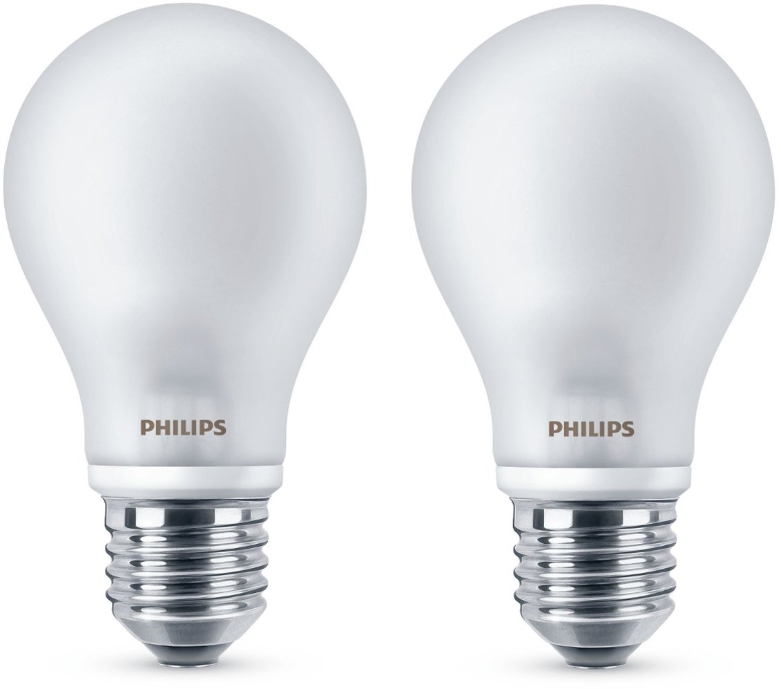 Philips Classic LED Lamp Equivalent to 60 W, E27, 806 Lumen Warm ...