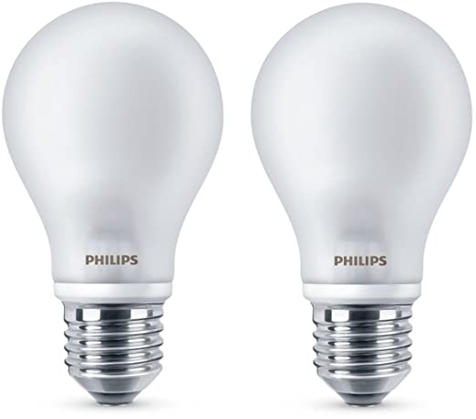 Philips Lighting 2 Lampadine Led Classic A60 E27 Ww Fr Nd 2bc 10 7