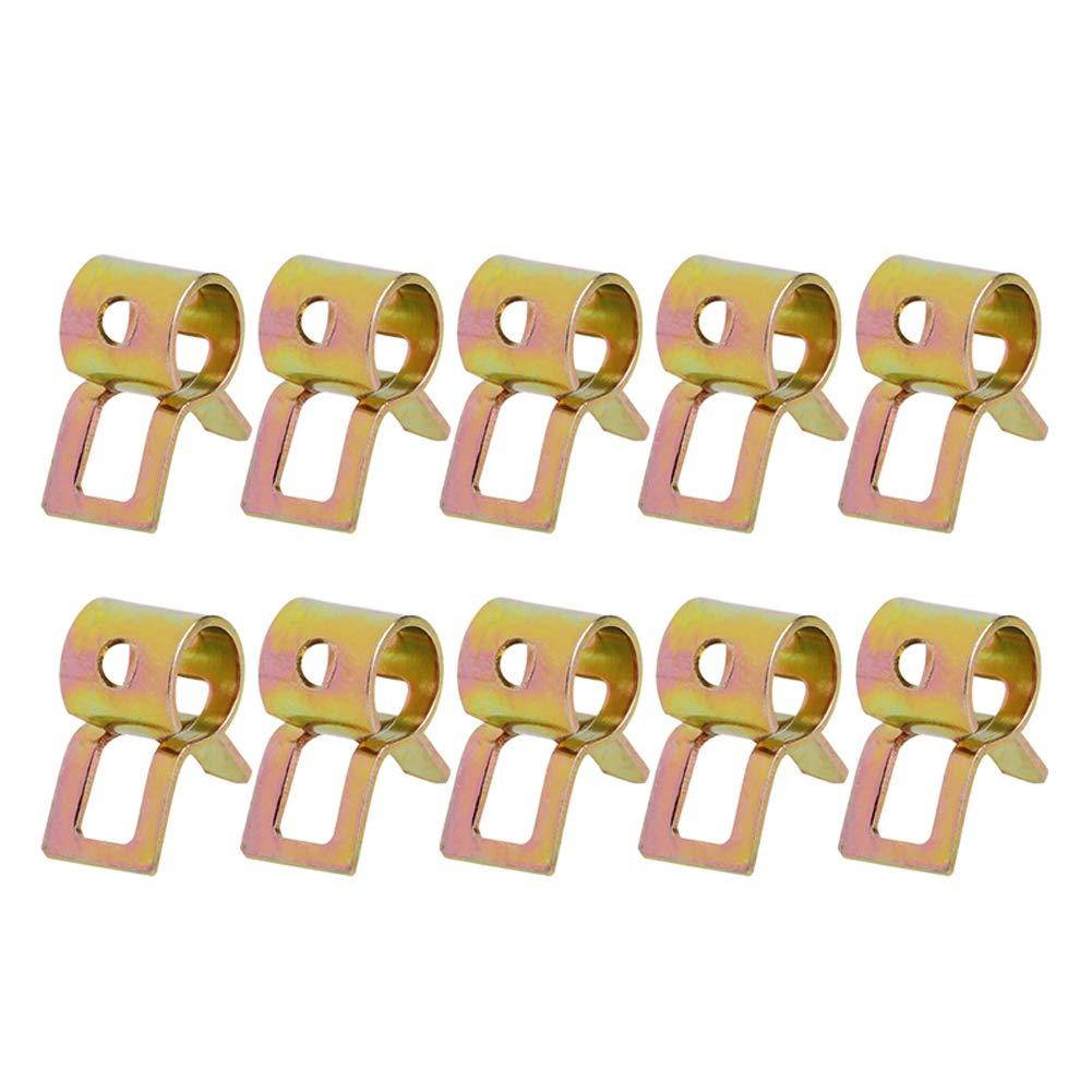 BIlinli Clip per Tubo Flessibile per Tubo Aria Serie 10Pcs 5-22mm