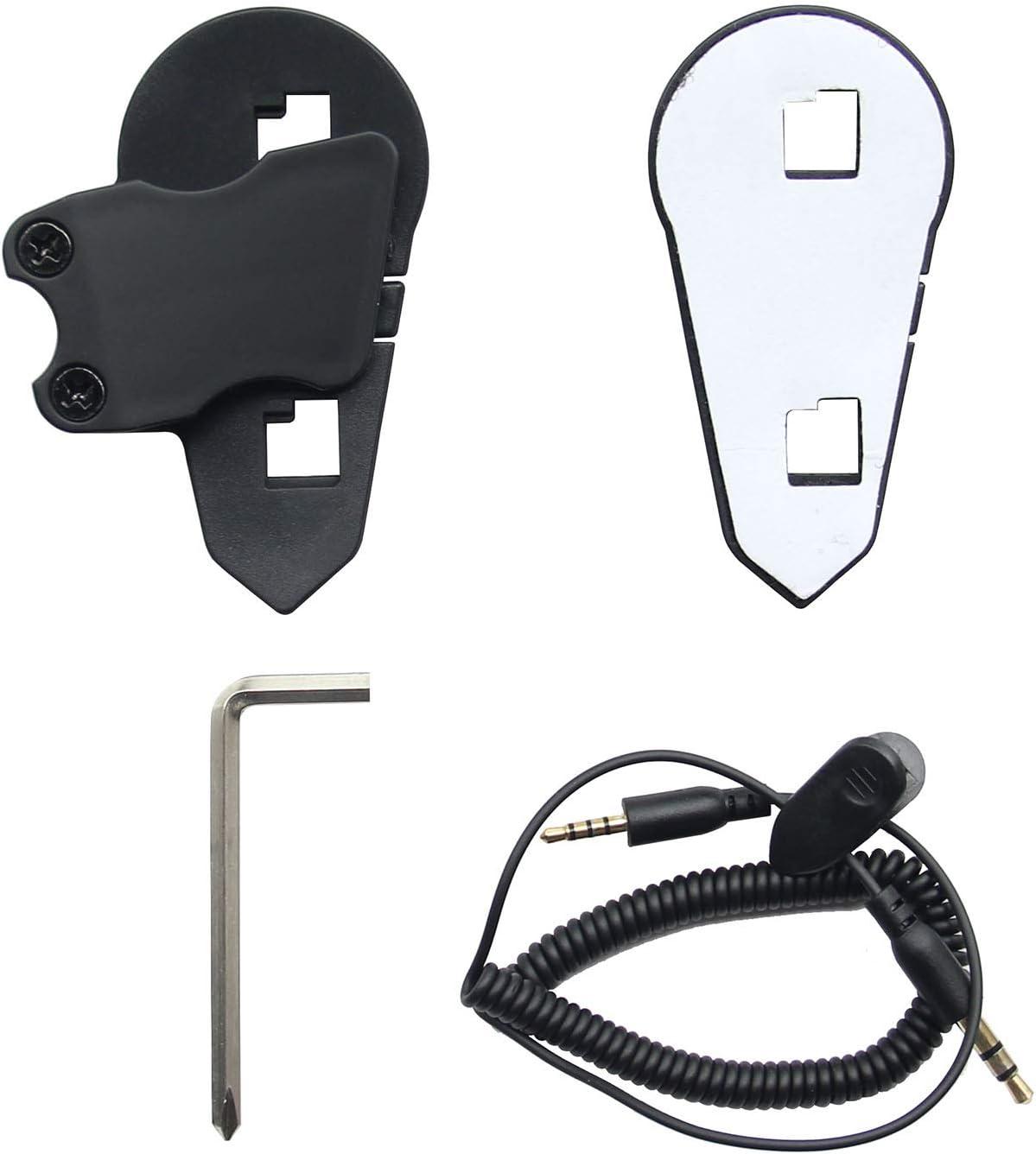 Accesorios de Instalaci/ón para BT-S3 Intercomunicador Casco Moto Auriculare