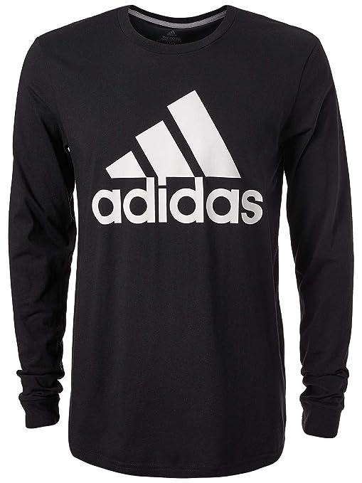 da9b0a8d3ef2 Amazon.com  adidas Men s Badge of Sport Classic Long-Sleeve Tee ...