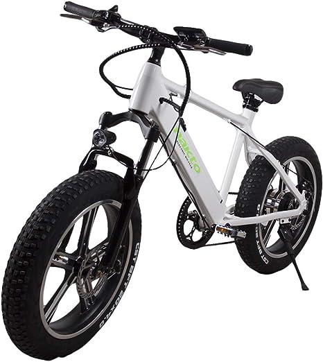 MERRYHE Bicicleta Eléctrica Desmontable 350W-48V-8Ah Li-batería ...