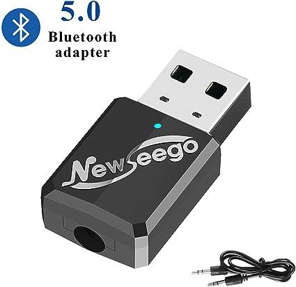 Newseego Receptor Transmisor Bluetooth 5.0 USB, Emisor Audio ...