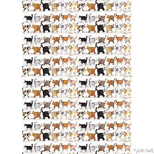 Alex Clark Tea Towel - Cats