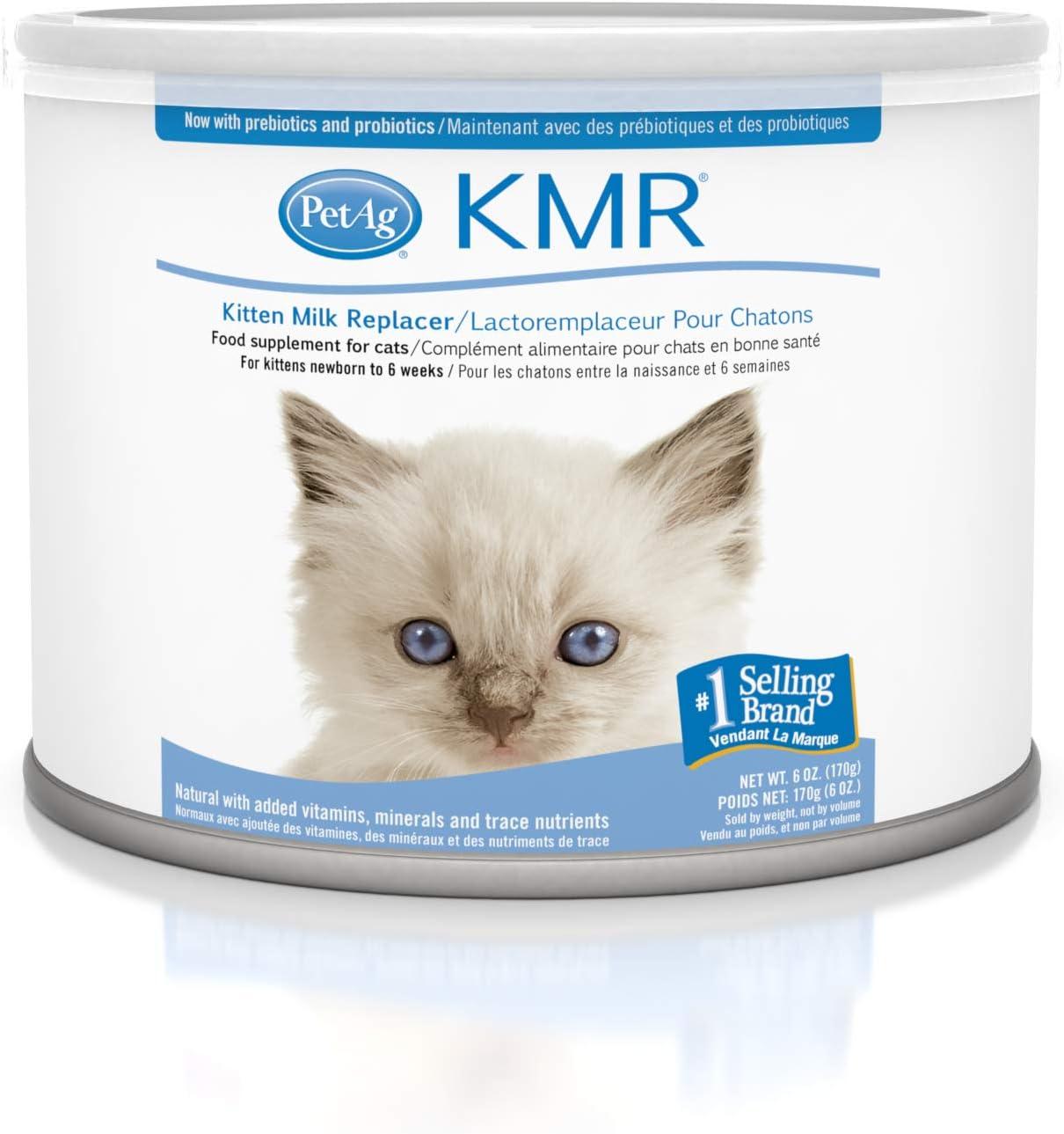 Amazon.com: Reemplazo de leche para gatitos de KMR, Polvo, 6 ...