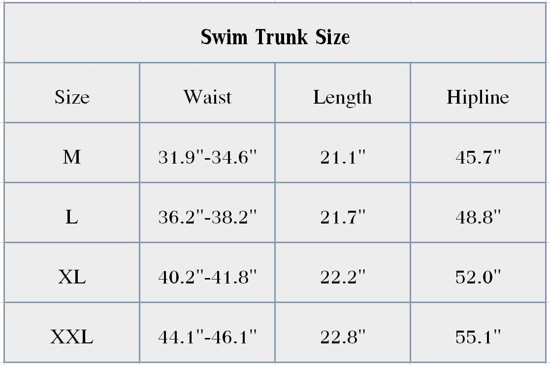 AA WIU Bear Elk Mens Summer Quick Dry Swim Trunk Drawstring Surf Board Shorts Bathing Suit
