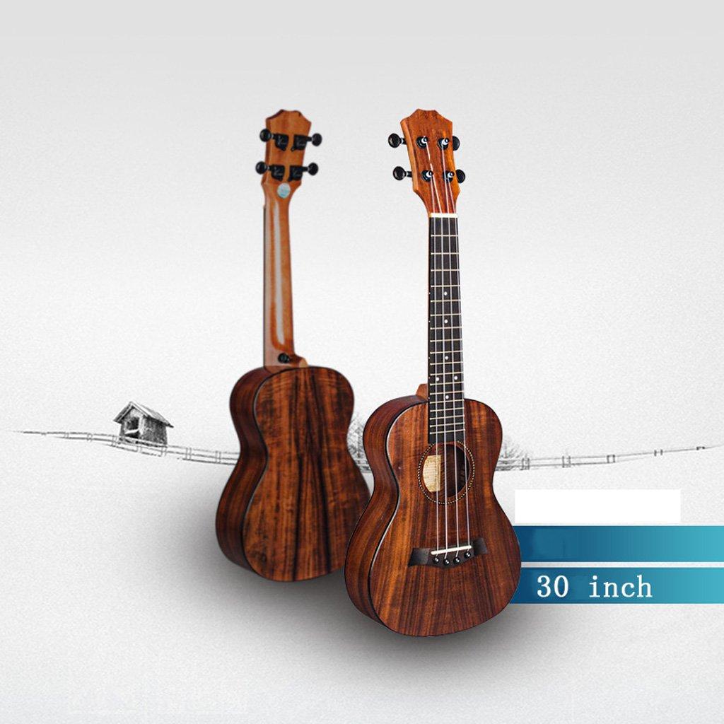 LINGZHIGAN Acacia Wood 30 Pulgadas 34 Ukulele Guitarra pequeña ...