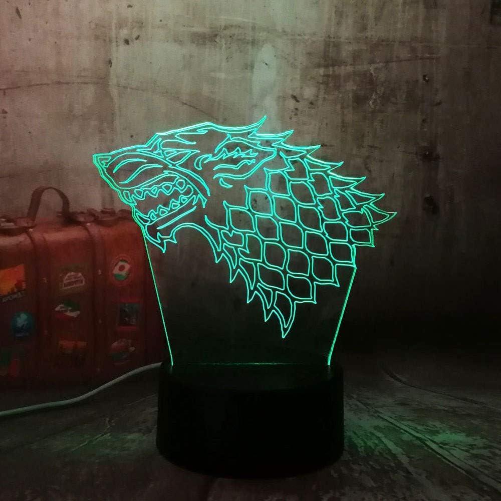 1 PAQUETE, para Game of Thrones Cool Stark Wolf, para una canción ...