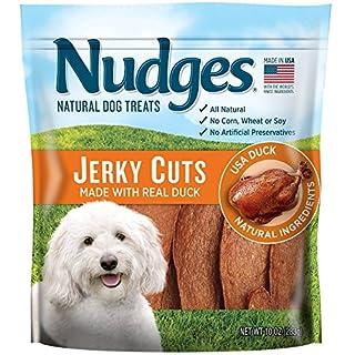 Nudges Duck Jerky Dog Treats, 10 oz