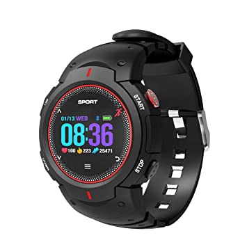 Qomomont Smartwatch Pulsómetro,Impermeable IP68 Reloj ...