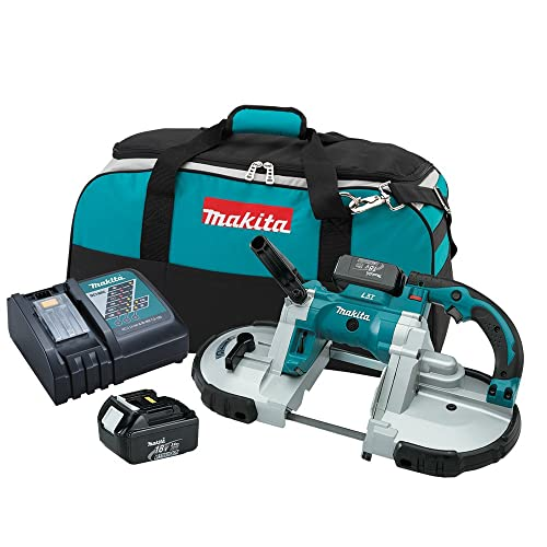 Makita XBP02 18V LXT Lithium-Ion Cordless Portable Band Saw Kit 3.0Ah Discontinued by Manufacturer