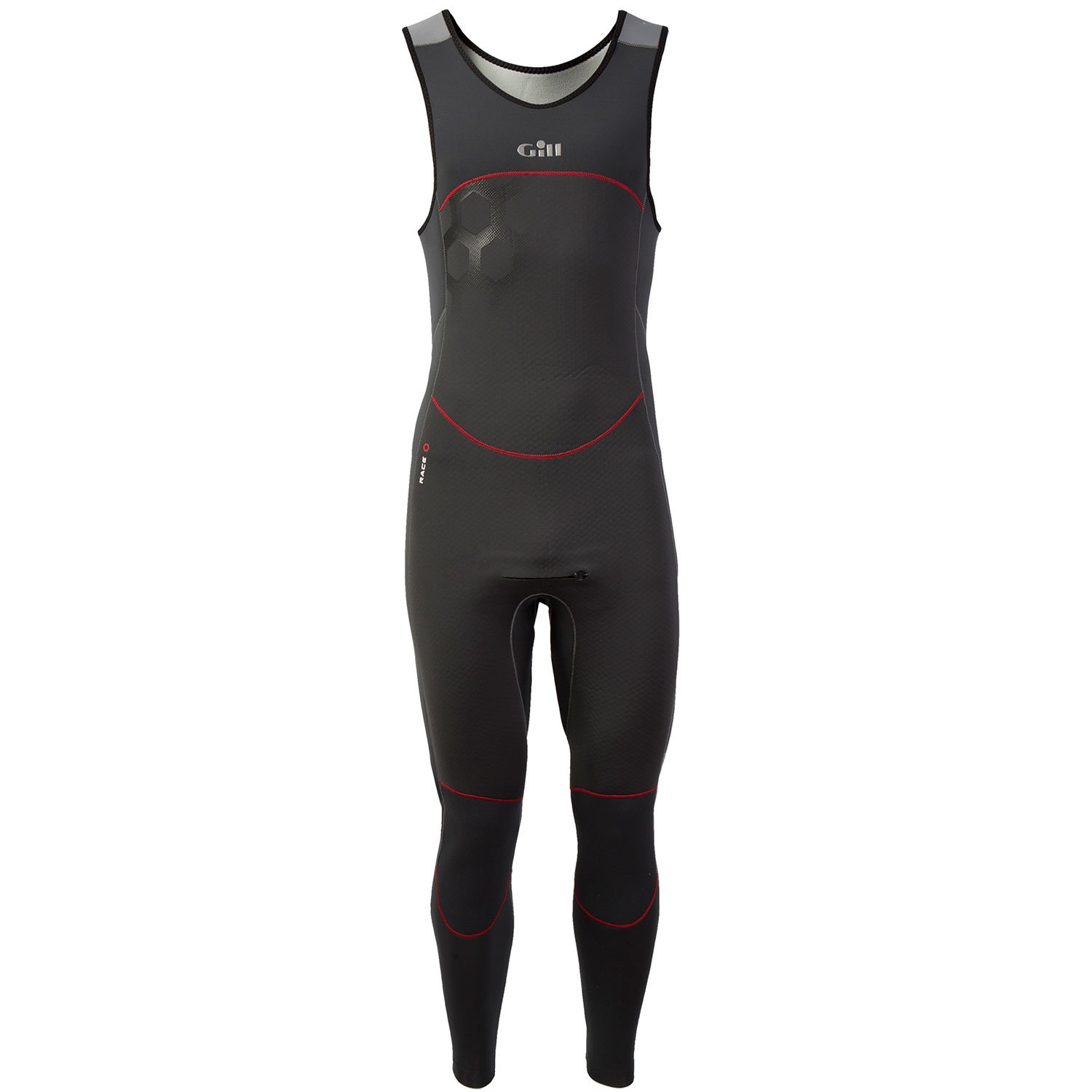 Gill Race Firecell Wetsuit Skiff Suit - Graphite XS by Gill