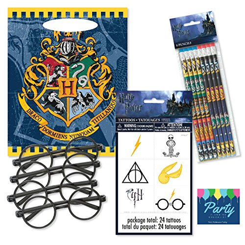 Party Tableware Today Harry Potter Party Favors for 8 -