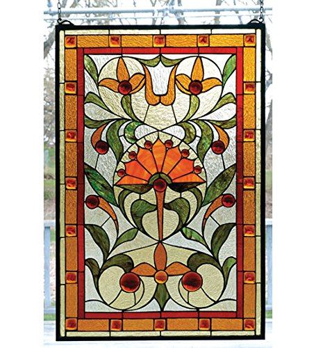 Tiffany Style Picadilly Stained Glass Window - Window Picadilly