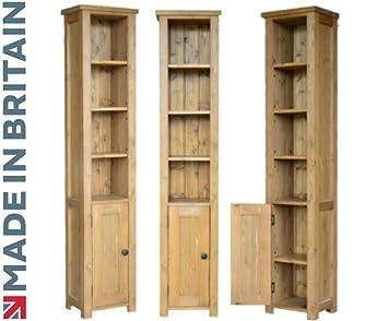 Heartland Pine Zentrum Kiefer Kiefer Massiv Bücherregal; Bordeaux ...