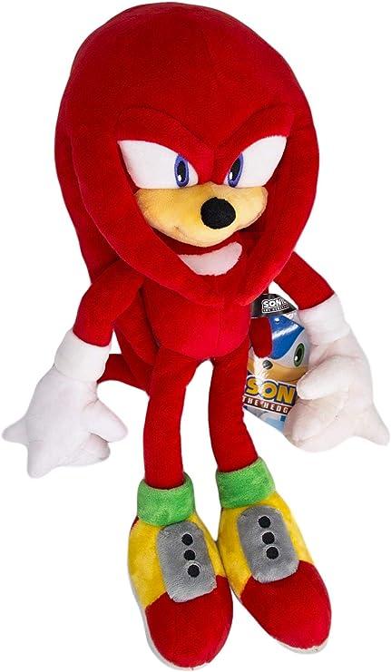 Amazon Com Sonic The Hedgehog Knuckles The Echidna Hq Stuffed