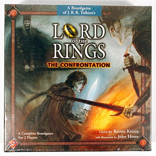 Lord Of The Rings Confrontation Boardgame - LOTR