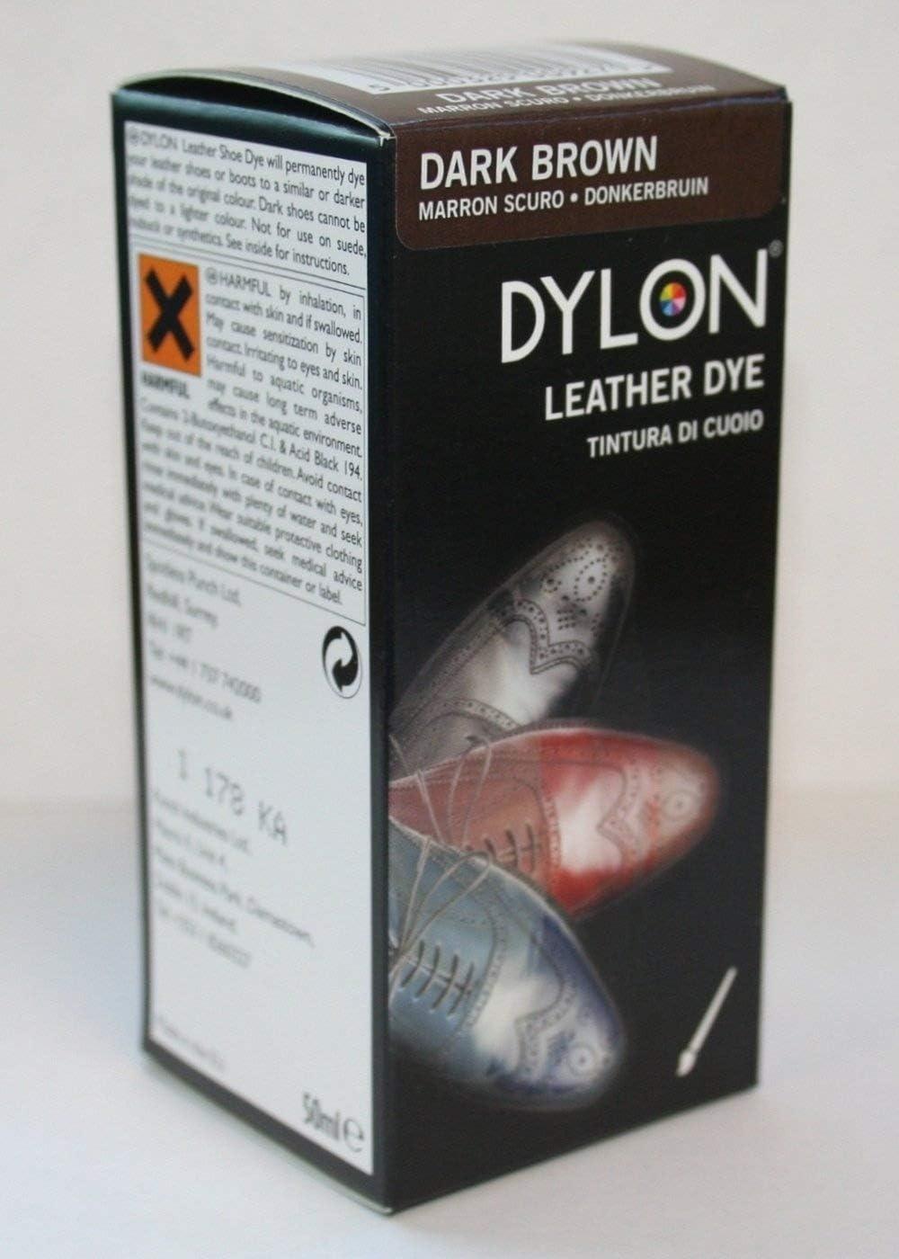 Tinte Dylon para Calzado de Ante - Marrón Oscuro