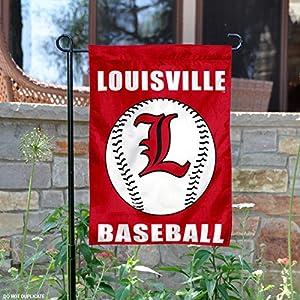 Louisville Cardinals Baseball Garden Flag and Yard Banner