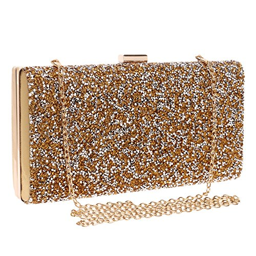 Evening Fashion Dress Diamond Banquet Bag Bag Lady Dinner Hand GROSSARTIG Dress Gold wtzdqYY