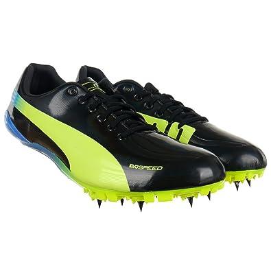 ce80e7a1785142 Puma Evo Speed Sprint LTD Running Spikes - 6.5 Black  Amazon.co.uk ...