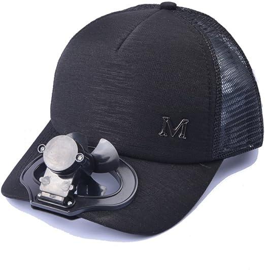 Sombrero De Ventilador USB De Carga Al Aire Libre Protector Solar ...