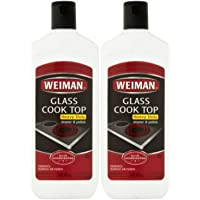 Weiman Glass Cook Top Heavy Duty Cleaner & Polish,Pack of 2 (15 oz Each)