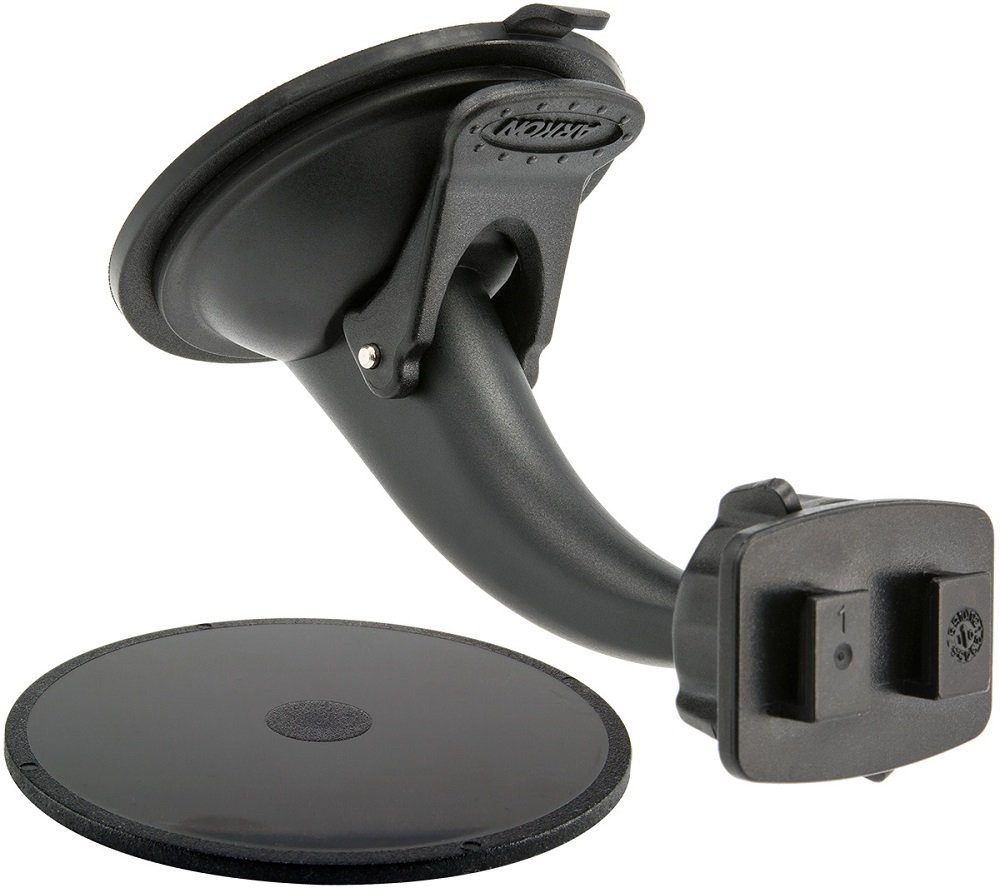 ARKON Replacement Upgrade or Additional Windshield Dashboard Sticky Suction Mount for Dual T Holders Retail Packaging Black GN068WD-SBH