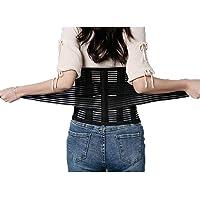 HBINLY Faja Lumbar para la Espalda,Lumbar Ortopedica Ideal para Trabajo – Dolor de Espalda – Gimnasio – Hernia Discal para Hombre Y Mujer