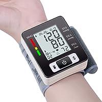 Blood Pressure Monitor Fully Automatic Accurate Wrist Blood Pressure Cuff Monitor...
