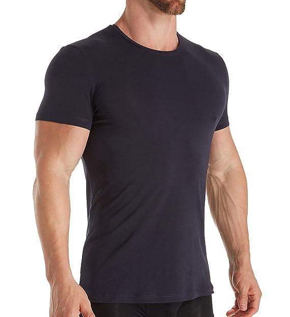 Amazon.com: Nero Perla para hombre 100% algodón cuello ...