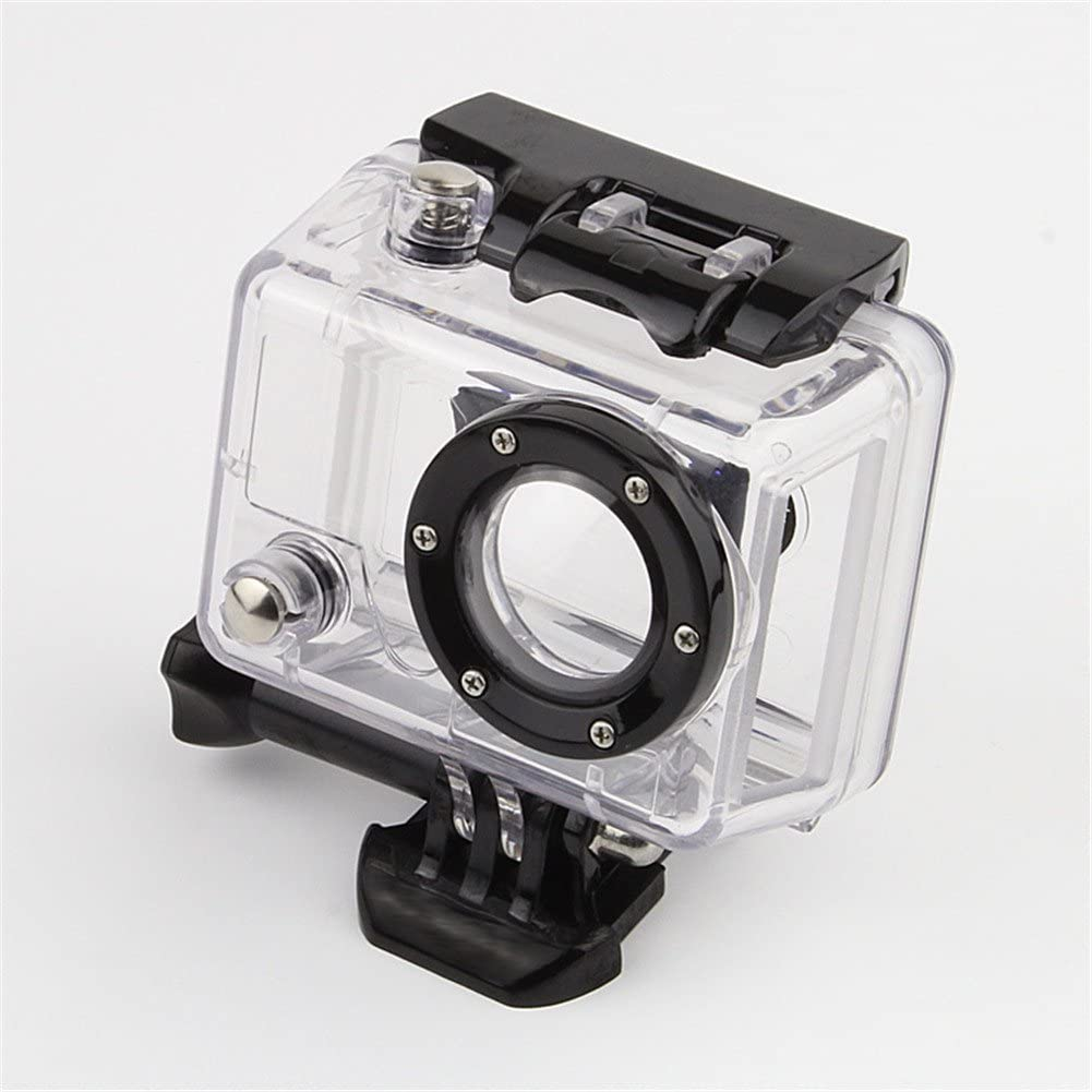 Nechkitter Skeleton Housing Case Replacement for Gopro HD Hero and HD Hero 2 Camera, Side Open Protective Housing Case