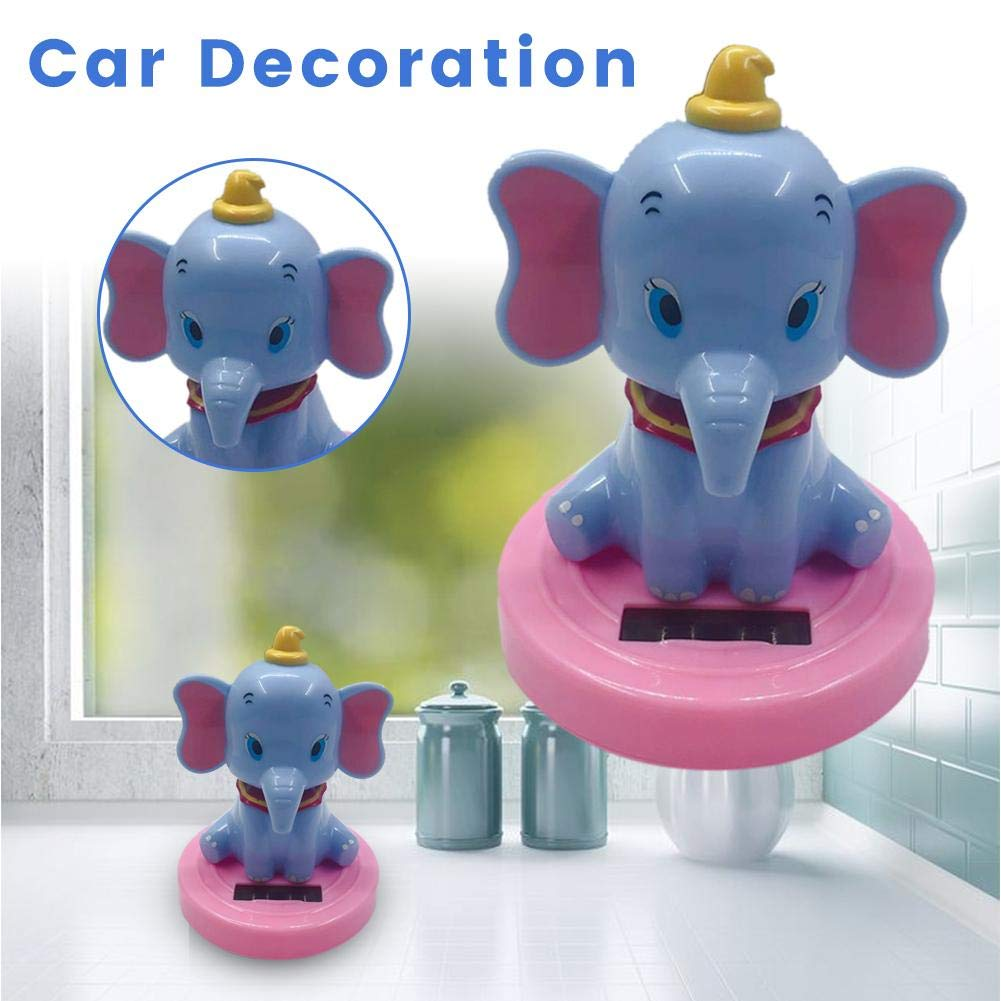 7710cm Solar Dancer Toy Dancing Animal Swinging Animated Bobble Dancer Toy Car Decor Kids Toys Gift