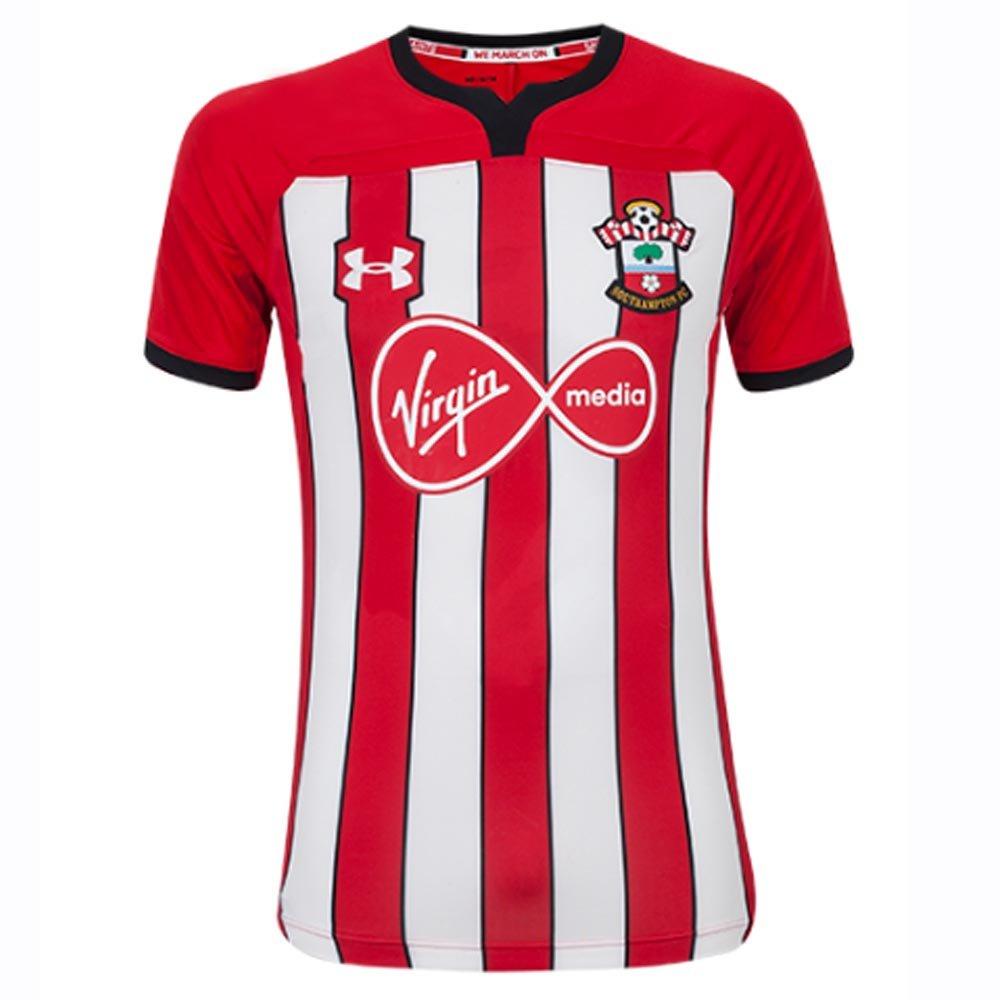 best website 57648 d1c54 Under Armour 2018-2019 Southampton Home Football Soccer T-Shirt Jersey