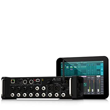 Behringer X AIR XR12 12-Input Digital Mixer DJ Mixer at amazon