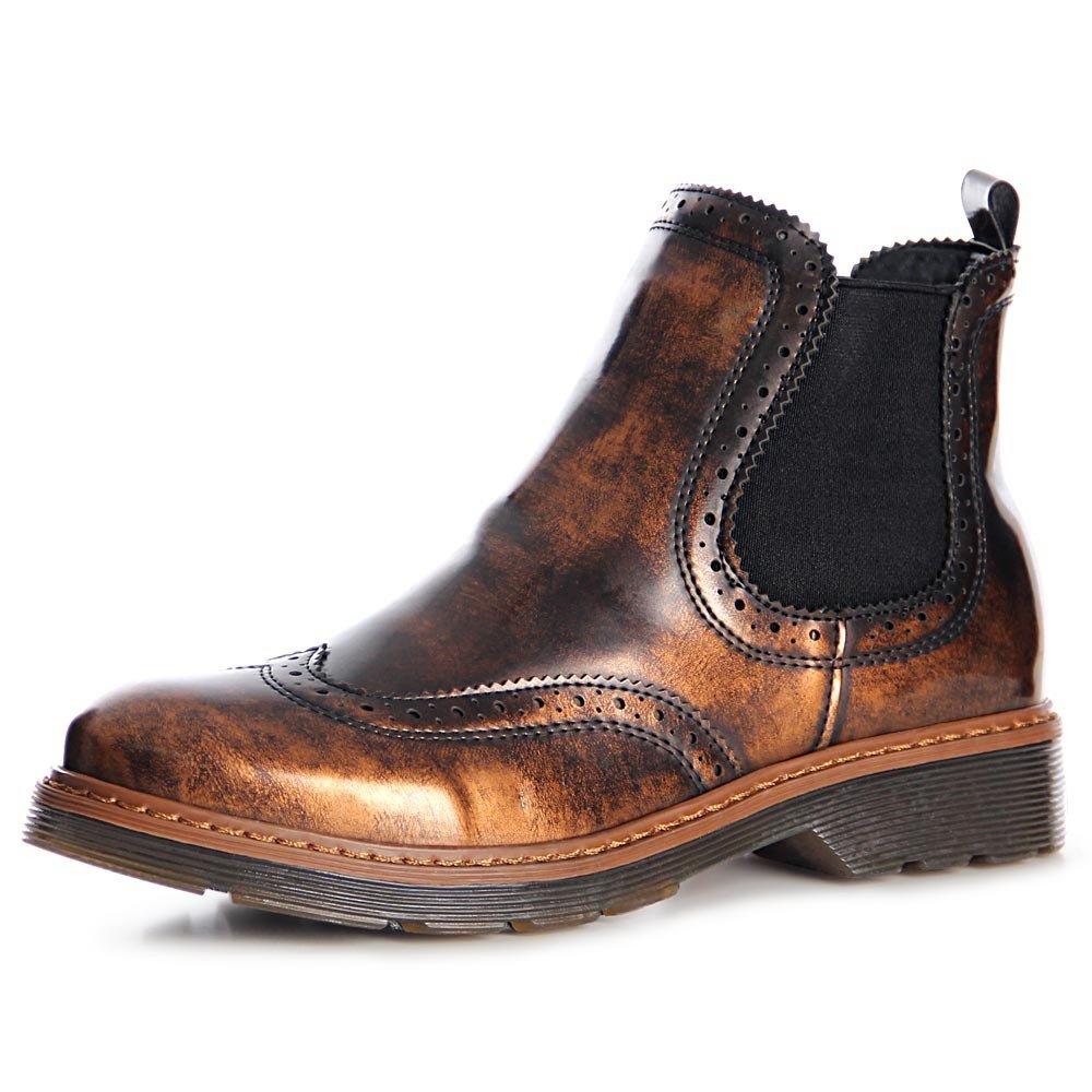 topschuhe24 - Botas para mujer, color marrón, talla 36