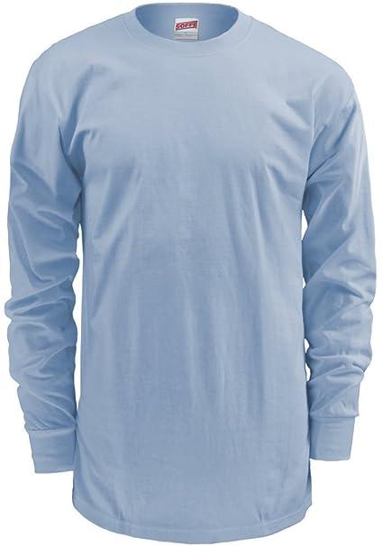 c1dcc4ca1af Image Unavailable. Image not available for. Color  Soffe Men s Men S Long  Sleeve Cotton T-Shirt