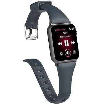 X4-TECH - Correa de Repuesto para Apple Watch 3 Band 38 mm ...