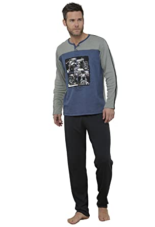 "Massana - Winter Pajamas Sets Men MASSANA ""MOTORCYCLES"" ..."