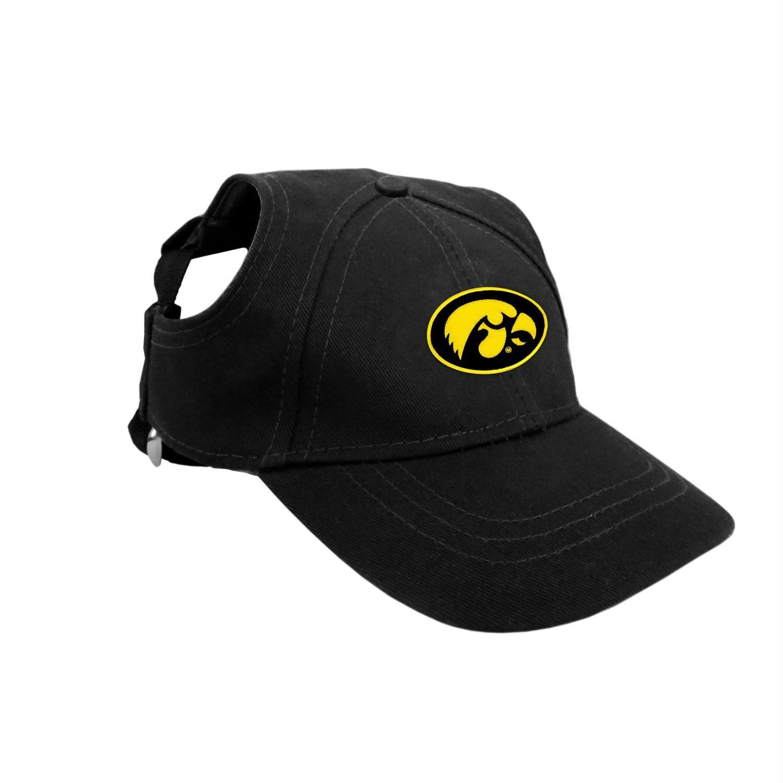 Iowa Hawkeyes Pet Baseball Hat Large