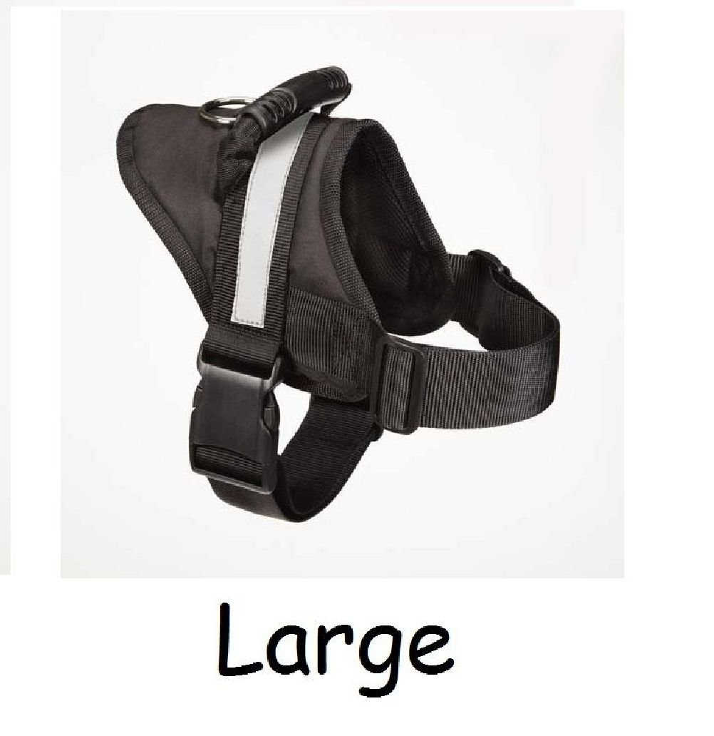 No Pull Padded Handle Harnesses For Dogs-Dog Anti Pull Harness Walk Train Pet