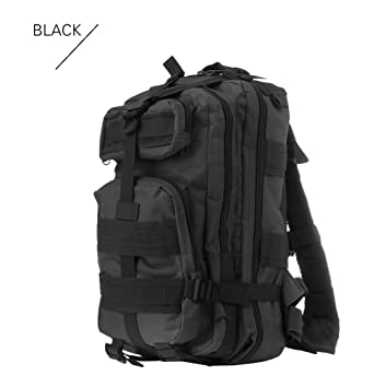 52b3bbc4ac17 Quner Military Tactical Backpack 30L Molle Army Rucksack Waterproof Outdoor  Gear Assault Pack for Hunting Camping Hiking Trekking  Amazon.co.uk  Sports    ...