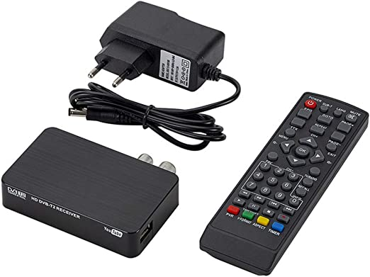 Receptor DVBT Aisumi-Mini K2 receptor de TV DVB-T2 DVB-T H.264 FHD Terrestre decodificador digital TV sintonizador Set-top Box para monitor soporte PVR antena WiFi: Amazon.es: Hogar