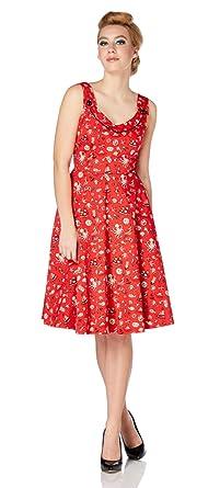 Amazon damen kleid rot