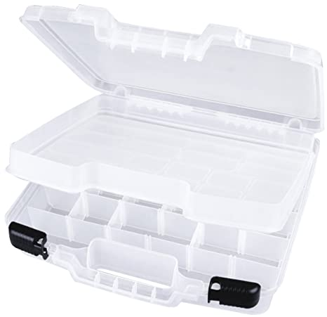 17497a220f51 ArtBin 6962AB 15 inch Quick View Carrying Case-Deep Base - Div.  Interior/Lift-Out Tray