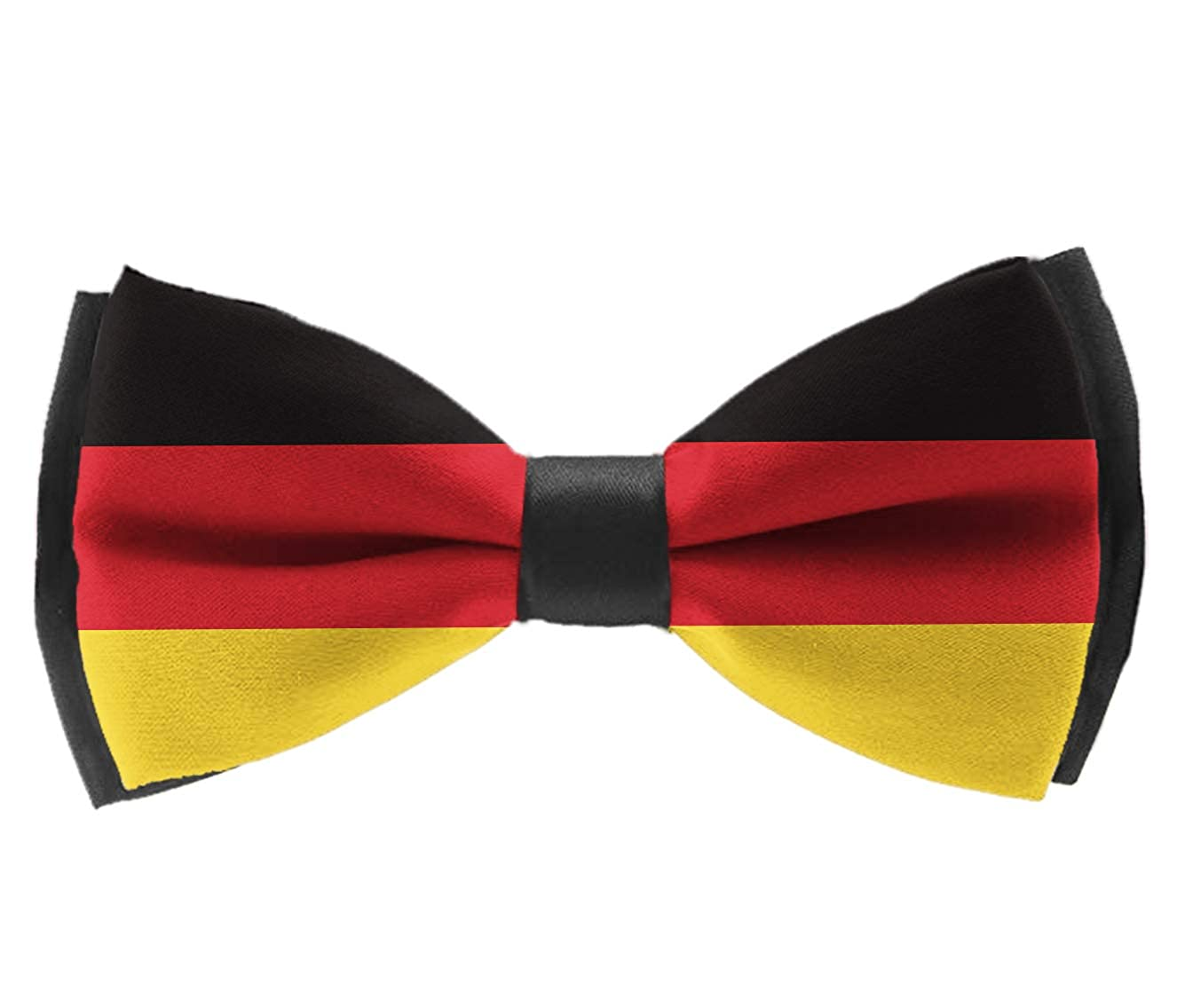 Pre Tied Bowties Germany Flag Tuxedo Solid Formal Bow Tie