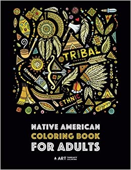 Amazon.com: Native American Coloring Book For Adults: Artwork ...